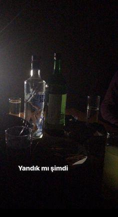 Fake story alkol içki