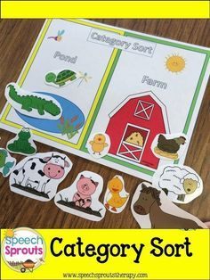 Spring Speech Therapy: Spring Themed Speech Therapy Activities and Crafts Preschool Speech Therapy, Speech Activities, Speech Language Therapy, Speech Therapy Activities, Language Activities, Speech Language Pathology, Speech And Language, Preschool Activities, Shape Activities