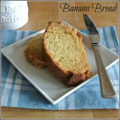 Gourmet Cooking For Two: Banana Bread