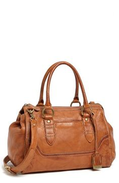 Frye 'Campus Speedy' Leather Satchel available at Beautiful Handbags, Beautiful Bags, Handbag Accessories, Fashion Accessories, Looks Style, Leather Satchel, My Bags, Purse Wallet, Purses And Handbags