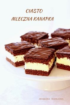 kasymaunan - 0 results for food Quick Dessert Recipes, Cookie Recipes, Low Carb Side Dishes, Food Fantasy, Polish Recipes, Homemade Cakes, Chocolate Desserts, Food Cakes, Mousse