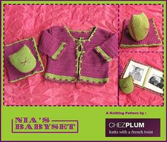 baby set, free crochet pattern