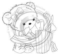 Whimsy Stamps, Bear Cartoon, Penny Black, Digital Stamps, Card Making, Cute Animals, Scrapbook, Cards, Bears