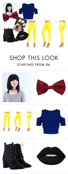 """Untitled #48"" by kwon-jaylin ❤ liked on Polyvore featuring New Look, Zimmermann and Lime Crime"
