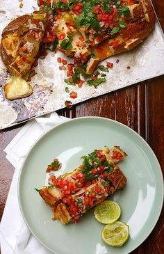 Mexican cheesy pull-apart with smoked tomato gremolata - This is the savior for all last minute drink get-togethers.