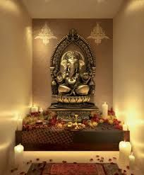 creative puja room/area ideas - Google Search