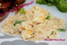 Cheddar Chive Rice!