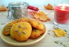 Slastni piškoti s sončničnimi semeni in kurkumo. Odlična kombinacija okusov!