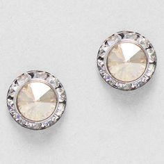 Lovely earrings.
