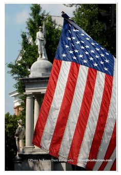 Beautiful USA flag photo from theRDBcollection, available in varying sizes
