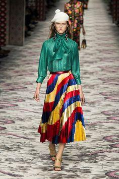 Défilé Gucci: la carte du Tendre d'Alessandro Michele - tendances, stars…