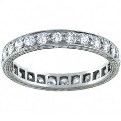 Antique 2.00ct Old Mine Cut Diamond Eternity Wedding Band - See more at: http://www.newyorkestatejewelry.com/wedding-bands/art-deco-2.00ct-diamond-eternity-wedding-band/23034/4/item#sthash.Vkfnszb5.dpuf