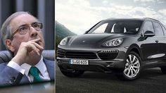 O juiz federaldeterminou o bloqueio de R$ 220 milhões do ex-deputado Eduardo Cunha,preso hoje (19) pela PF Entre os bens bloqueados de Cunha,aparecem seis carros de luxo da família. Dois Porsche...