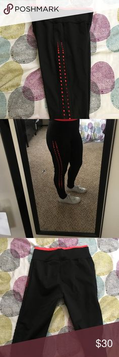 POPFIT leggings-Dry Fit Wicks away sweat! Athletic, Regular Fit, Regular Length POP Fit Pants Leggings