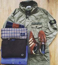Away days - Munchen, Stone Island, Aquascutum, Fred Perry Football Casual Clothing, Football Casuals, Football Outfits, Mode Masculine, Bape, Mens Trends, Outfit Grid, Latest Mens Fashion, Mod Fashion