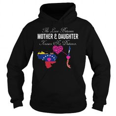 This daughter shirt will be a great gift for you daughter or your friend: The Love Between Mother and Daughter - Venezuela Chile Tee Shirts T-Shirts