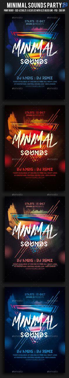 Western Party Flyers Bundle Modello di volantino, Volantini e - karaoke night flyer template