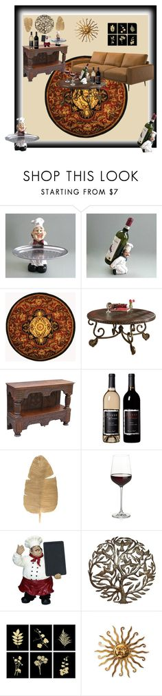 """""""French Chef Decor-A Floral Affair"""" by bamasbabes on Polyvore featuring Safavieh, Crate and Barrel, Casa Cortes and Stratton Home Décor"""