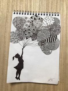 Mandala Art Lesson, Mandala Artwork, Easy Mandala Drawing, Mandala Sketch, Doodle Art Drawing, Zentangle Drawings, Zentangles, Art Drawings Sketches Simple, Pencil Art Drawings
