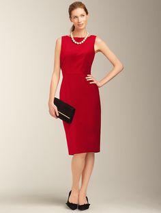 Talbots - Velveteen Dress   Dresses   Misses