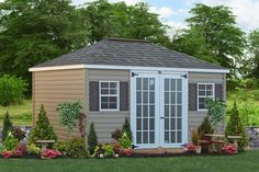 Create a unique backyard with a custom sheds. Buy custom storage sheds, custom car garages and prefab garden buildings from Sheds Unlimited in Lancaster, PA. Shed Plans 12x16, Free Shed Plans, Shed Design, Roof Design, Barn Style Shed, Shed Makeover, Prefab Buildings, Loafing Shed, Custom Sheds