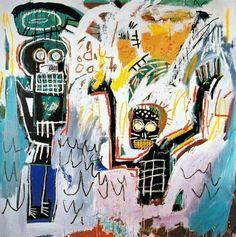 Jean Michel Basquiat - Baptism. Art Experience NYC www.artexperiencenyc.com/social_login/?utm_source=pinterest_medium=pins_content=pinterest_pins_campaign=pinterest_initial