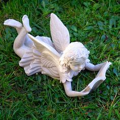 1000 images about garden statues on pinterest fairy Reading fairy garden statue