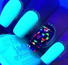 These nails are fabulous and talk about want.