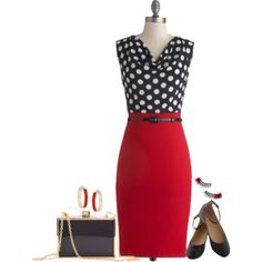 """ModCloth"" by xandriah on Polyvore"
