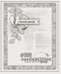cardabilities: Sketch #109 - Designed by Karan Gerber