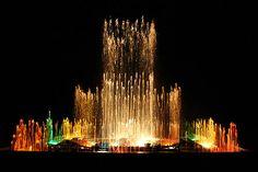 Dancing Fountain- Vrindavan Garden- Mysore- India by sanmang610