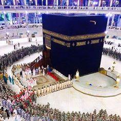 Image in Islam 🌙/ Allah 💎 collection by Makaveli Islamic Images, Islamic Pictures, Islamic Art, Islamic Qoutes, Islamic Videos, Muslim Quotes, Mecca Masjid, Masjid Al Haram, Mecca Madinah