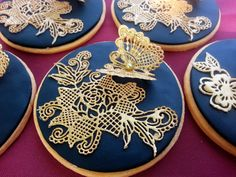3D Butterfly Lace Cookie