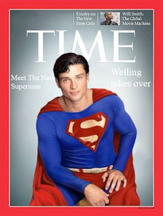 Smallville - Tom Welling like Superman at Times magazine cover Supergirl Superman, Superman Movies, Superman Family, Superman Man Of Steel, Dc Movies, Batman And Superman, Superman Stuff, Smallville, Series Dc