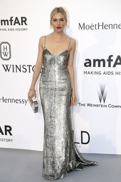 The New York Times fashion critic called this Ralph Lauren slip dress one of the best looks at Cannes Film Festival. Photo: Thibault Camus/Associated Press