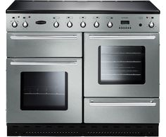 Rangemaster Toledo 110 Induction TOLS110EISS Freestanding Electric Range Cooker - Stainless Steel