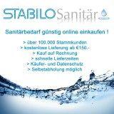 Stabilo Sanitär ist der führende Onlinehändler für Sanitär, Klima und Heizung.   Mit über 10000 Produkten haben wir ein grosse Auswahl für jeden Installateur und hat alles was ein Wiederverkäufer oder auch Heimwerker braucht. Nutzen Sie unser Angebot und kaufen Sie eine grosse Auswahl Sanitärzubehör und auch Abwasserrohre.