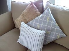 Loving Life: More No-Sew Pillows