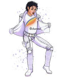 Charenel (@Charenel_art) / Twitter Michael Jackson Cartoon, Michael Jackson Drawings, Michael Jackson Smile, Michael Jackson Photoshoot, Bad Album, Jackson's Art, Cartoon Fan, Superhero Characters, King Of Music