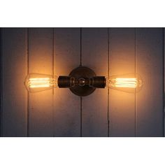 Vintage Double Wall Light