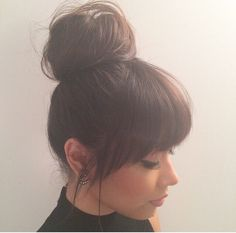 bangs/fringe>> Love Long hairstyles with bangs? wanna give your hair a new look? Long hairstyles with bangs is a good choice for you. Here you will find some super sexy Long hairstyles with bangs, Find the best one for you, Hair Day, New Hair, Your Hair, Great Hair, Pretty Hairstyles, Wedding Hairstyles, Full Fringe Hairstyles, Layered Hairstyles, Long Hairstyles With Bangs