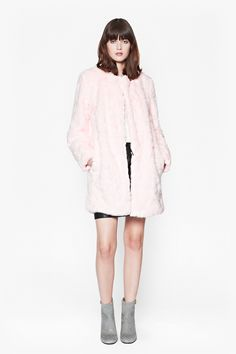 Shop the newest season women's clothes for French Connection. The latest arrivals are here and ready for you at French Connection! Winter Bride, Pink Faux Fur, Coat Sale, Teddy Coat, French Connection, Mantel, Cool Outfits, Active Wear, Winter Fashion