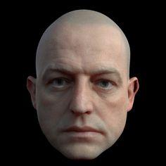 Le visage humain rencontre l'expérimentation 3D dans les GIFs d'Adam Pizurny | The Creators Project