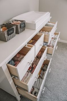 Blair's Closet and Organization Reveal – Karlie Rae Lang You are in the right place about baby boy nurseries Here we offer you the most beautiful pictures about the boy nurseries plaid you are looking Baby Nursery Diy, Baby Boy Nurseries, Nursery Room, Girl Nursery, Girl Room, Nursery Ideas, Babies Nursery, Modern Nurseries, Baby Bedroom