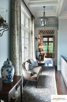 "perfect touches of blue - splendorinthesouth: "" via The Enchanted Home """