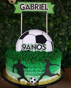 Soccer Birthday Parties, Football Birthday, Soccer Party, Sports Party, Birthday Party Themes, Soccer Birthday Cakes, Soccer Cake, Boy Birthday, Soccer Baby Showers