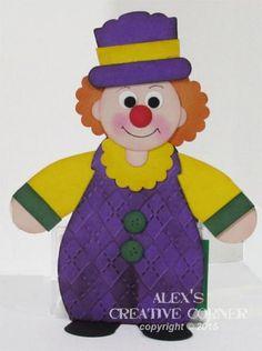 Clown Curvy Keepsake