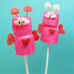 Marshmallow Love Bugs | Valentine's Day Recipes - Parenting.com