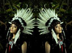 Jillian Undercover: TUTORIAL: How To Make A Native Headdress