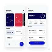 Maciel Kownacki Fitness App - My Recommendations Web Design, App App, Ui Ux, Flyer Template, Mood Boards, Fitness App, Templates, Designs, Platform